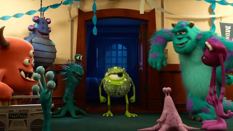 Monsters University: un'immagine tratta dal nuovo film animato di Disney-Pixar