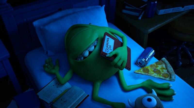 Monsters University: una delle prime immagini del nuovo lungometraggio animato di Disney-Pixar