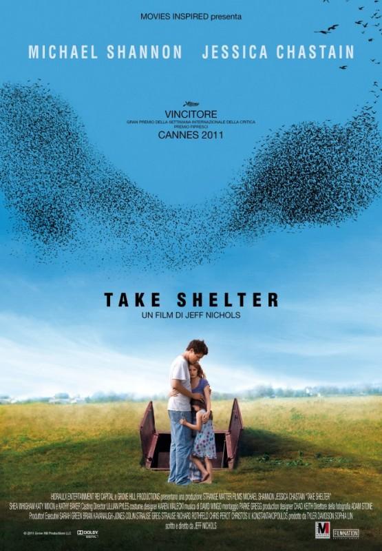 Take Shelter: la locandina italiana del film