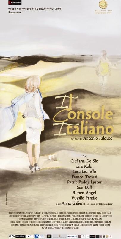 Il console italiano: il poster italiano del film