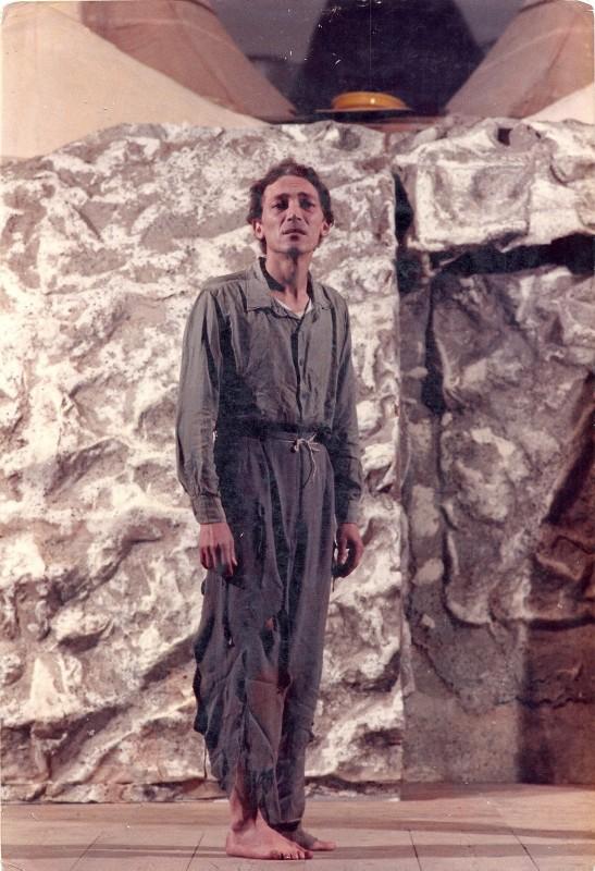 Mattia Machiavelli in una scena di Upupa My Dream is My Rebel King di Antonio Orfanò