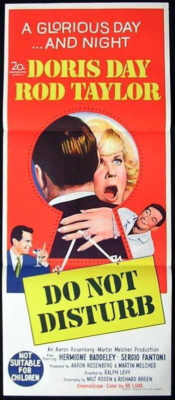 Non disturbate: la locandina del film