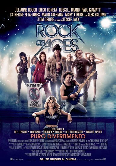 Rock of Ages: locandina italiana