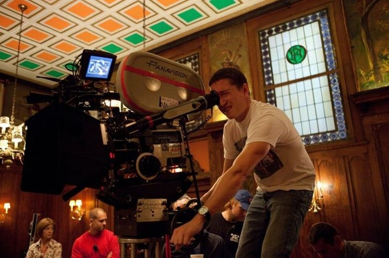 Lo spaventapassere: il regista David Gordon Green sul set