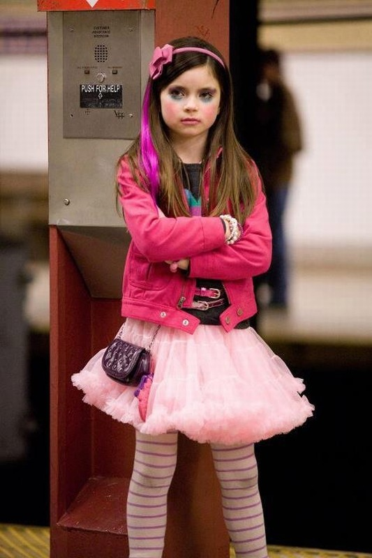 Lo spaventapassere: la piccola Landry Bender in una scena del film