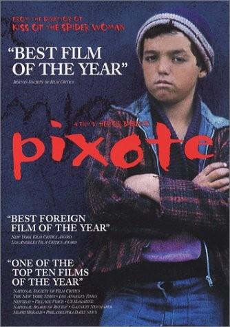Pixote, la legge del più debole: la locandina del film