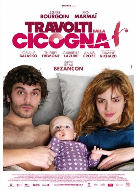 Travolti dalla cicogna: la locandina italiana del film