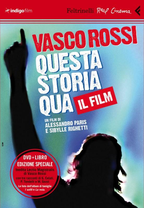 La copertina di Vasco Rossi - Questa storia qua (DVD+libro) (dvd)