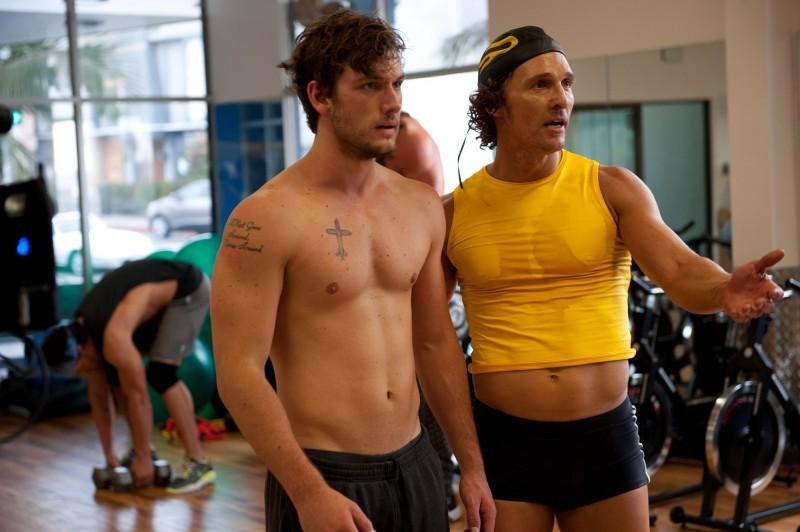 Alex Pettyfer e Matthew McConaughey in Magic Mike