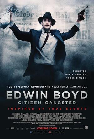 Edwin Boyd: la locandina del film