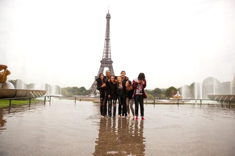LOL - Pazza del mio migliore amico: il cast sul set del film a Parigi