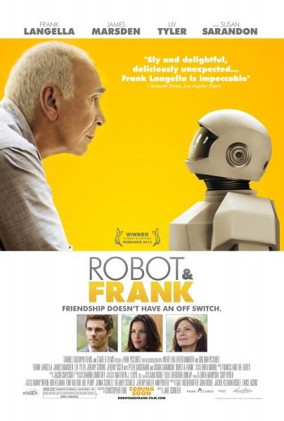 Robot and Frank: ecco la locandina