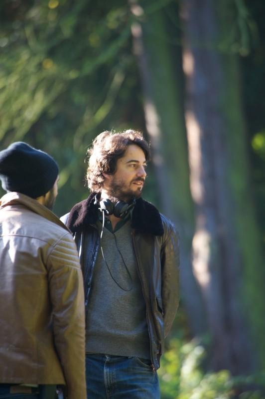 Travolti dalla cicogna: il regista Rémi Bezançon sul set del film