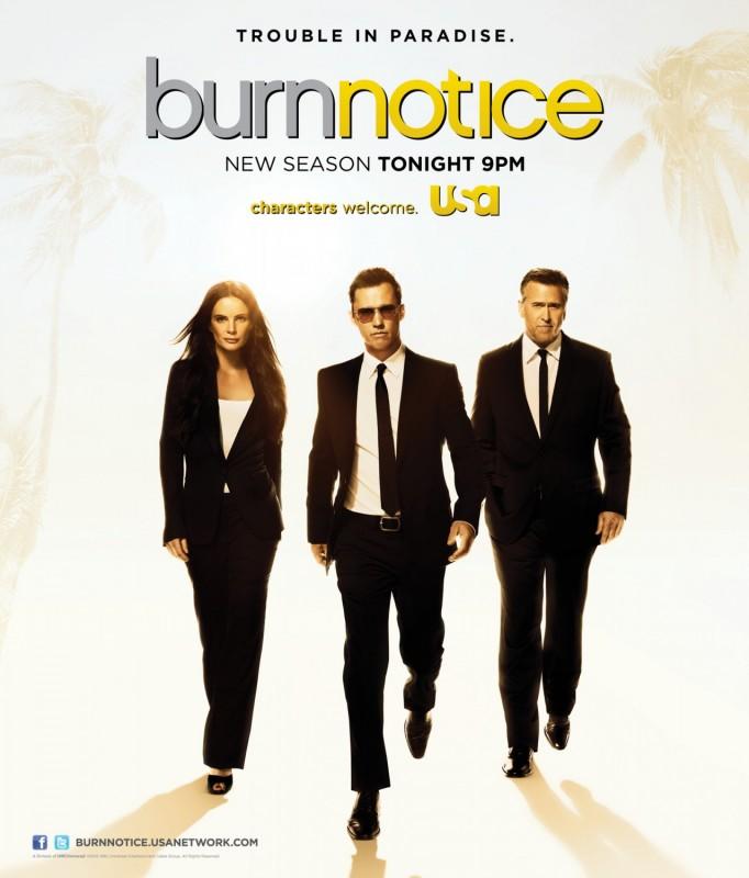 Burn Notice: un poster della sesta stagione