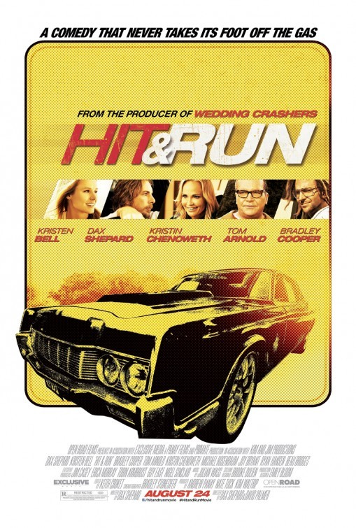 Hit and Run: la locandina del film