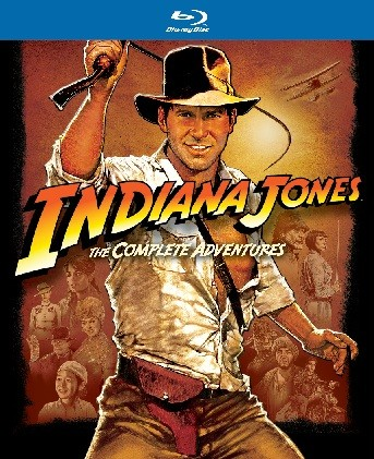 La copertina di Indiana Jones Blu-Ray Collection (blu-ray)