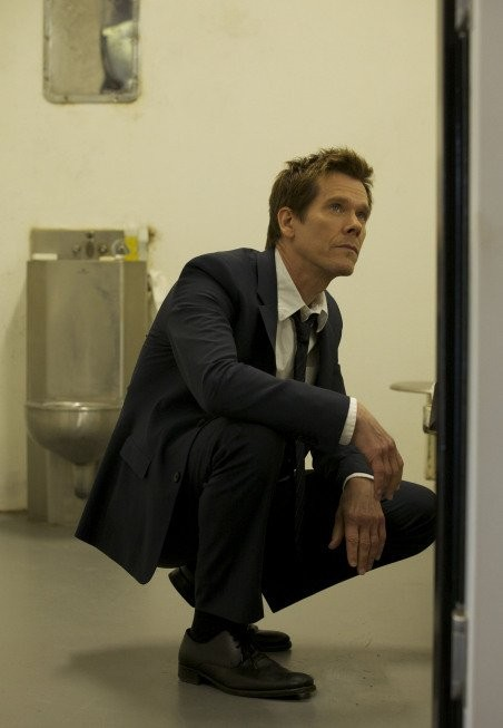 The Following: Kevin Bacon in una foto di scena della serie