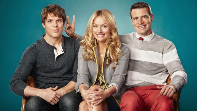The Goodwin Games: Becki Newton, Scott Foley e Jake Lacy in una foto promozionale
