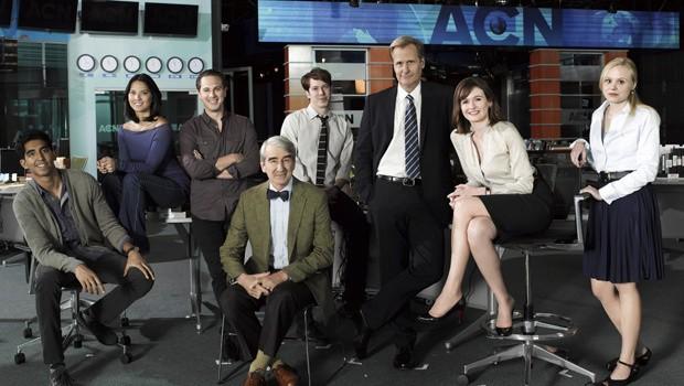 The Newsroom: foto promozionale con il cast della stagione 1