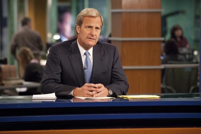 The Newsroom: Jeff Daniels in una scena dell'episodio 'We Just Decided To'