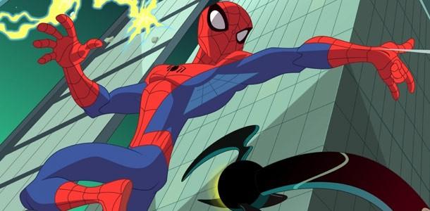 The Spectacular Spider-Man: un'immagine tratta dalla serie animata