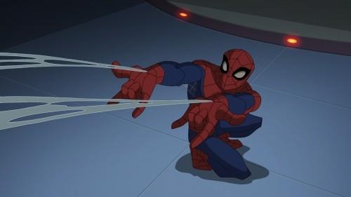 The Spectacular Spider-Man: una scena della serie animata
