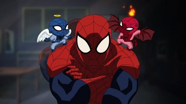 Ultimate Spider-Man: una scena della serie animata