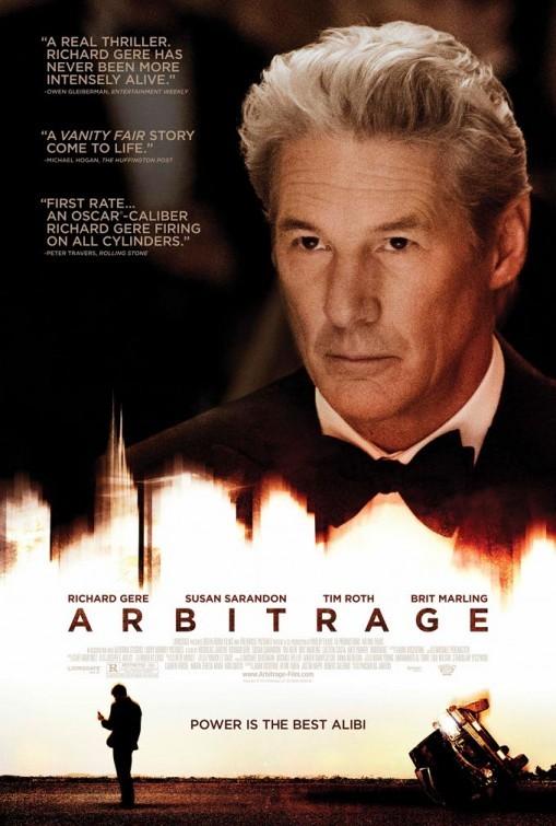Arbitrage - Sesso, potere e denaro: la locandina del film