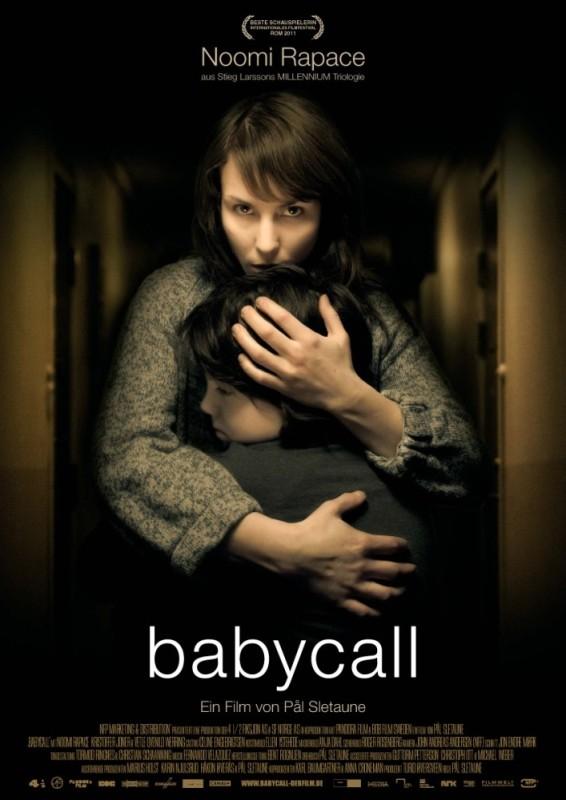 Babycall: la locandina tedesca del film