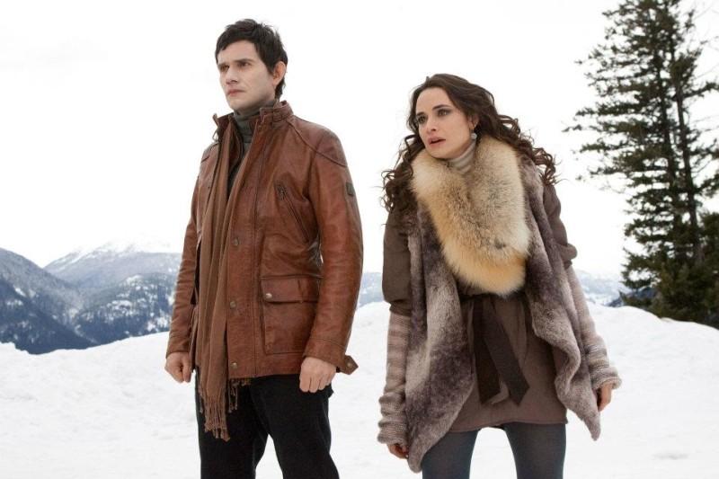 Christian Camargo e Mia Maestro in un'immagine di Twilight Saga: Breaking Dawn - Parte 2