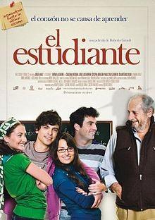 El estudiante: la locandina del film