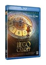 La copertina di Hugo Cabret 3D (blu-ray)