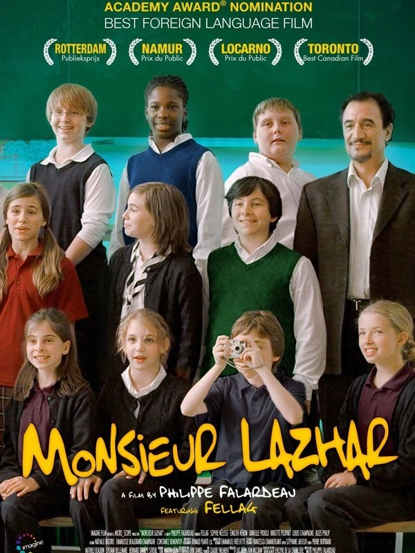 Monsieur Lazhar: la locandina internazionale del film