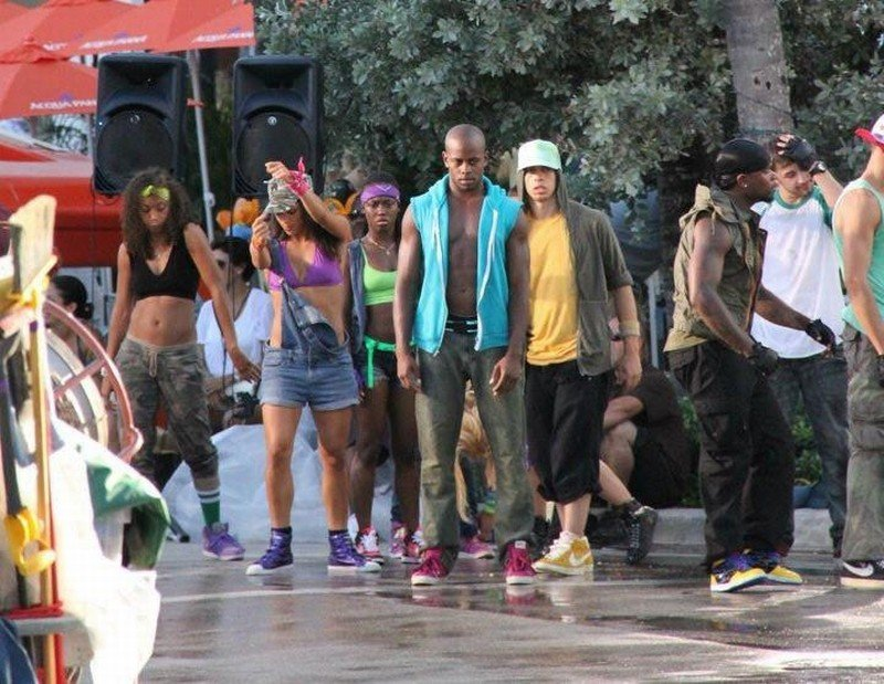 Step Up Revolution: una scena del film