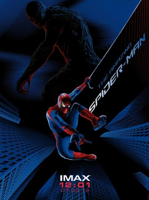The Amazing Spider-Man IMAX Midnight Poster
