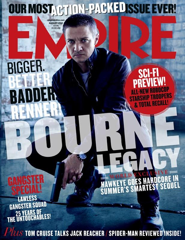 The Bourne Legacy: Jeremy Renner sulla copertina di Empire