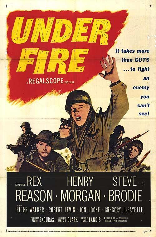 Under Fire: la locandina del film