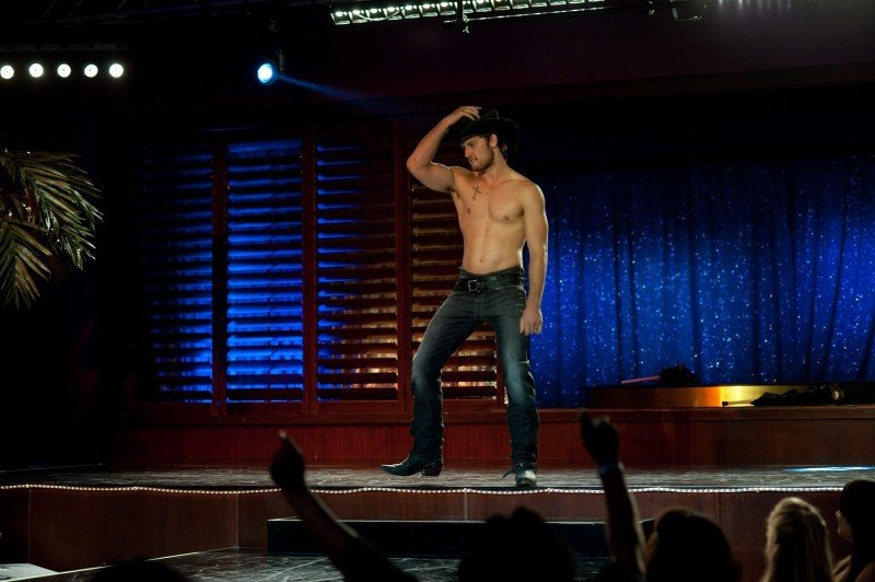 Magic Mike: Alex Pettyfer durante uno spogliarello