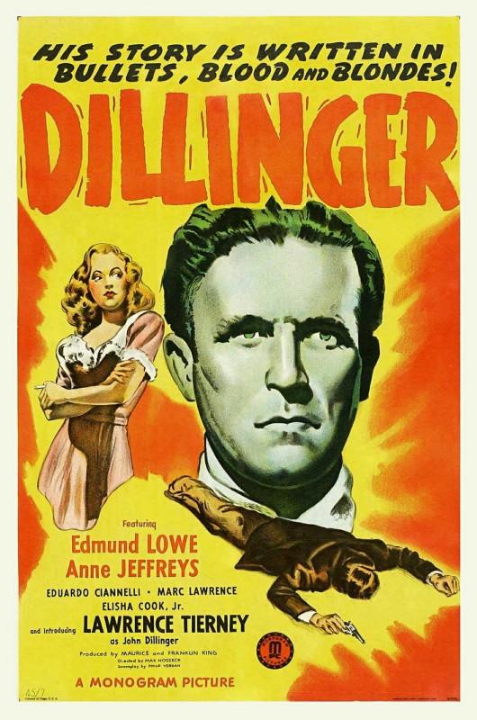 Dillinger - lo sterminatore: la locandina del film