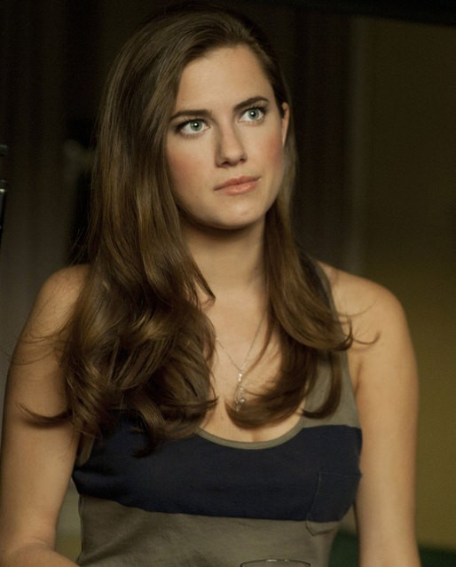 Girls: Allison Williams in una scena della serie HBO