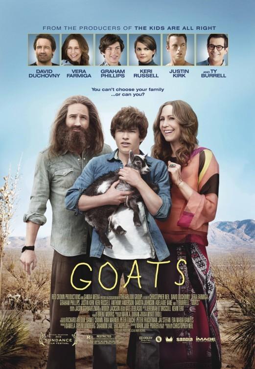 Goats: la locandina del film