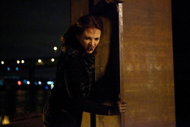 Grimm: Amy Acker nell'episodio Tarantella