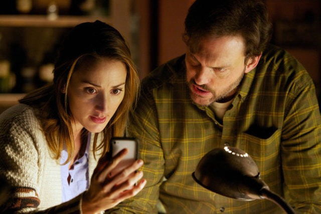 Grimm: Bree Turner e Silas Weir Mitchell nell'episodio The Thing with Feathers