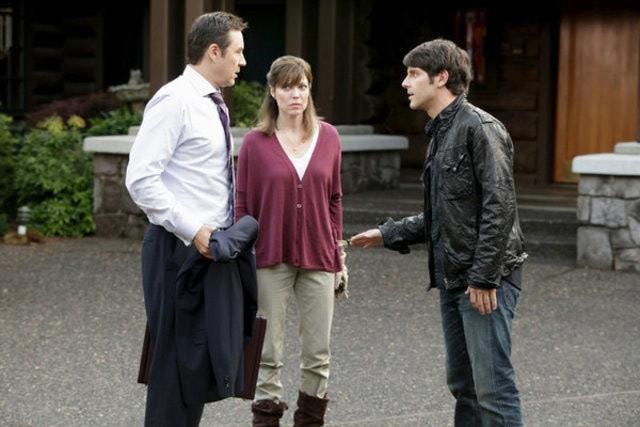 Grimm: Currie Graham, Jodie Harwood e David Giuntoli nell'episodio Bears Will Be Bears