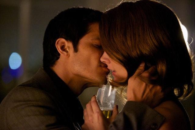 Grimm: David Giuntoli ed Amy Acker nell'episodio Tarantella