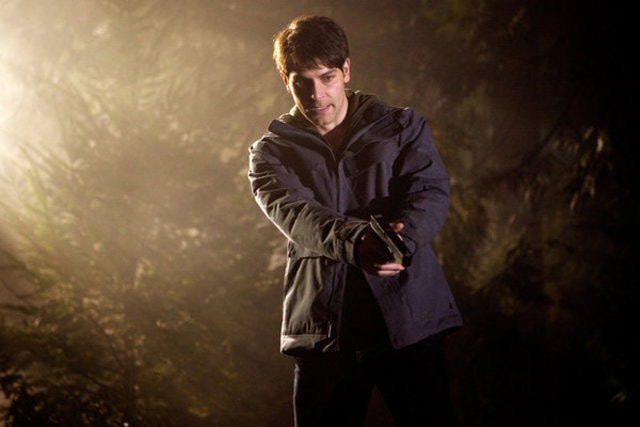 Grimm: David Giuntoli nell'episodio The Thing with Feathers