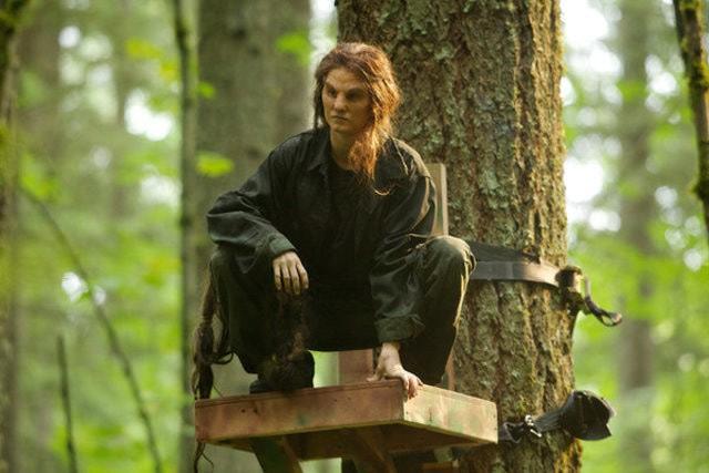 Grimm: Holly Clark in una scena dell'episodio Let Your Hair Down
