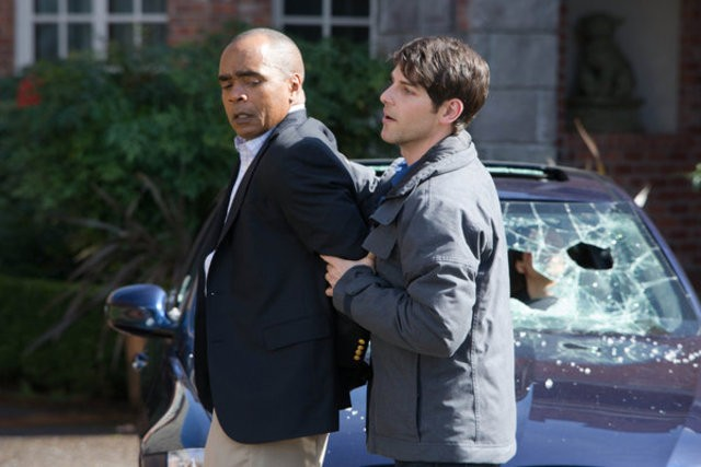 Grimm: Tom Wright e David Giuntoli nell'episodio Happily Ever Aftermath