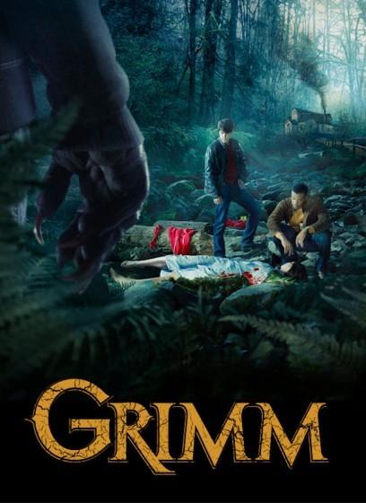 Grimm: un poster della serie NBC