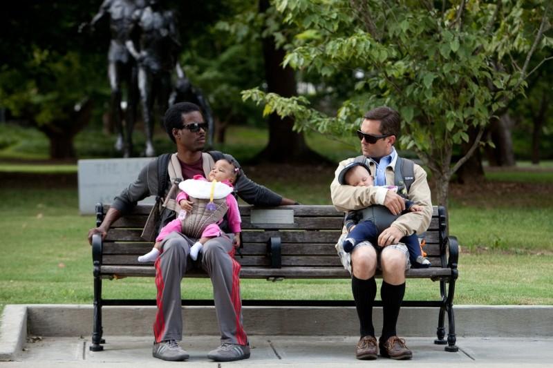 Che cosa aspettarsi quando si aspetta: Chris Rock e Thomas Lennon in una buffa immagine del film